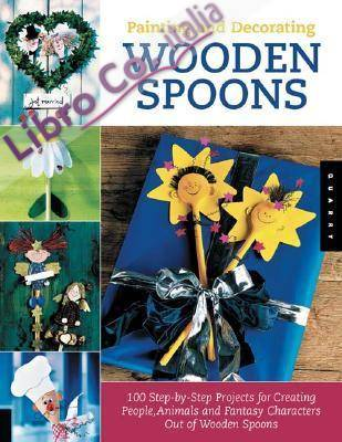Painting and Decorating Wooden Spoons with Pattern(s).
