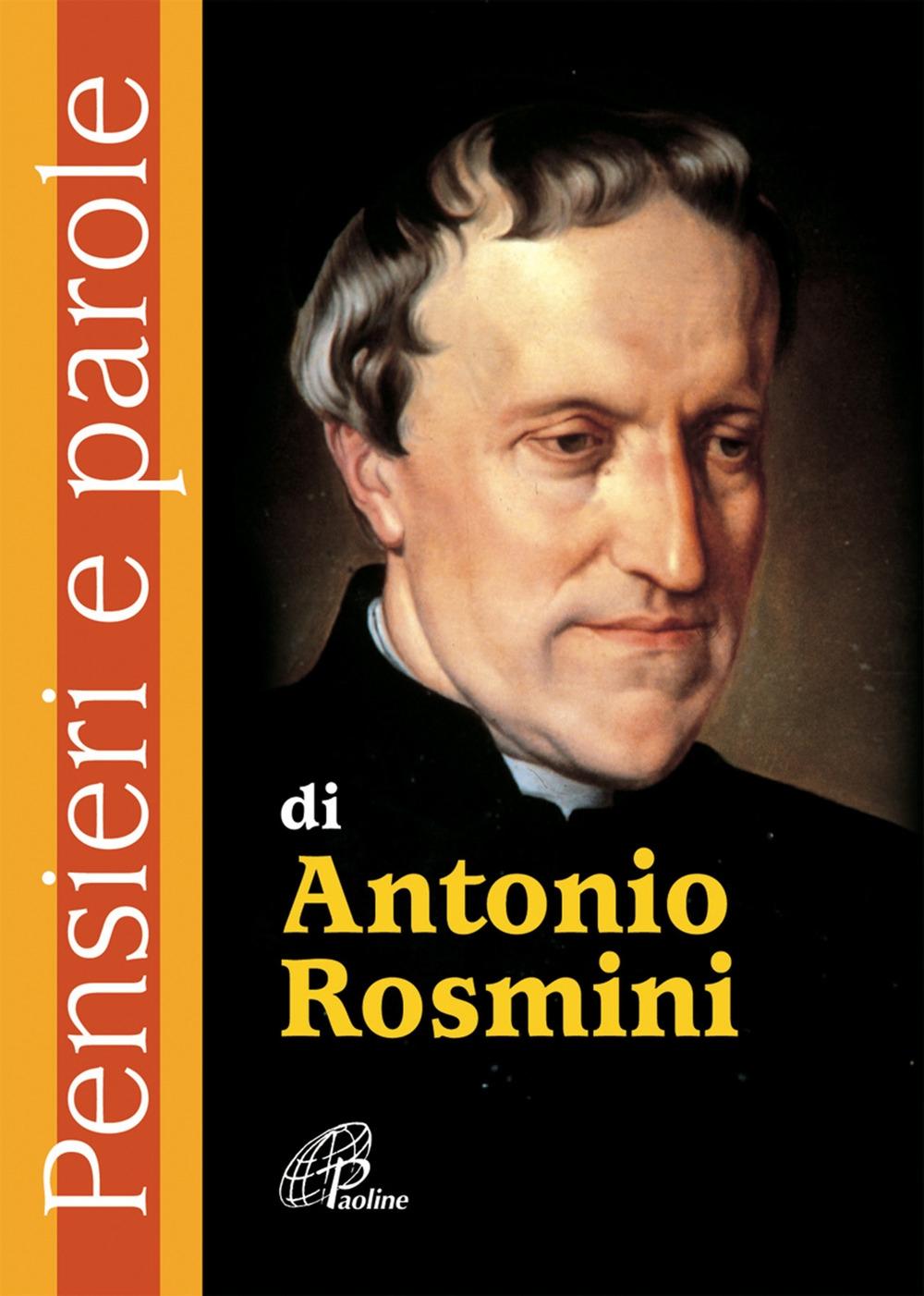 Pensieri e parole di Antonio Rosmini