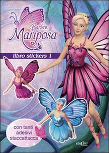 Barbie Mariposa. Libro stickers. Ediz. illustrata. Vol. 1