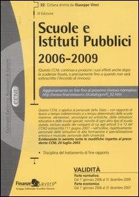 Scuole e istituti pubblici. 2006-2009.