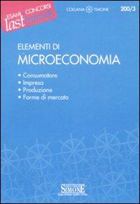 Elementi di microeconomia