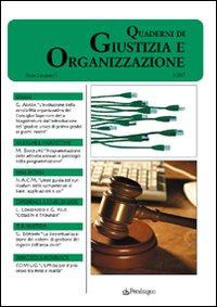 QUaderni di giustizia e organizzazione (2007). Vol. 3.