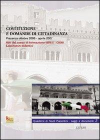 Costituzione e domanda di cittadinanza
