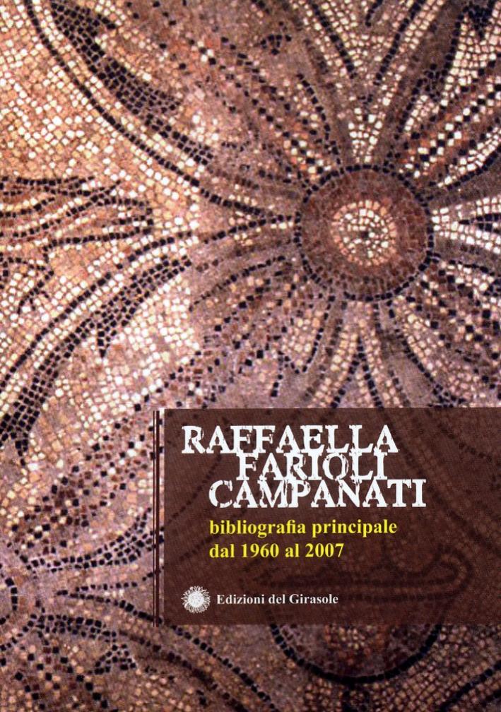 Bibliografia principale dal 1960 al 2007
