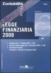 Legge Finanziaria 2008