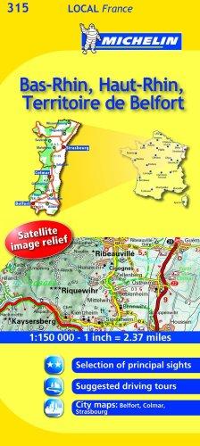 Bas-Rhin, Haut-Rhin, Territoire De Belfort
