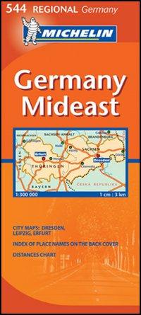 Germany Mideast 1:300.000