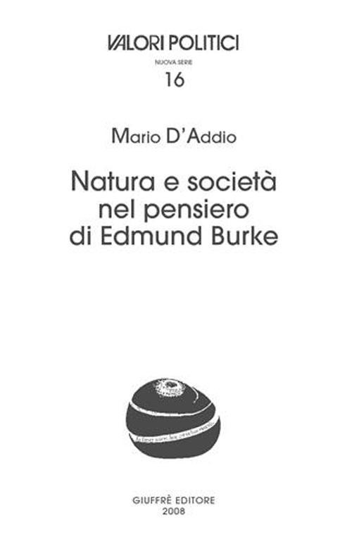 Natura e società nel pensiero di Edmund Burke