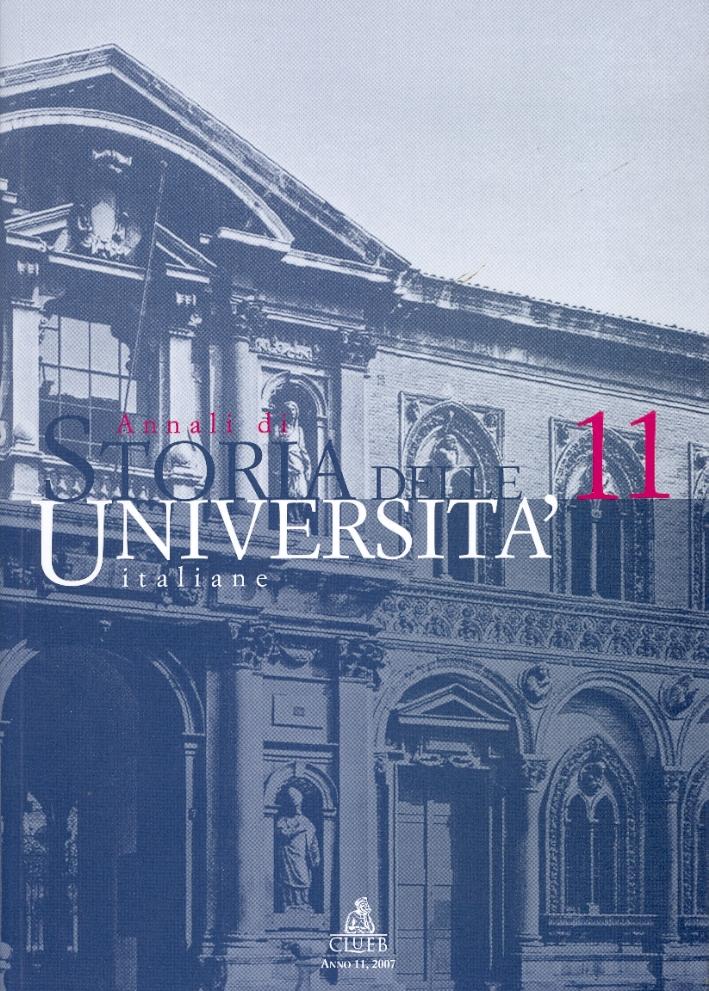 Annali di Storia delle Universita Italiane. 11/2007