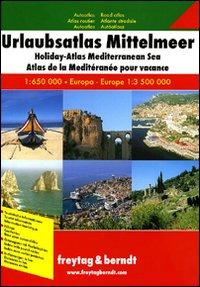 Mediterraneo. Atlante stradale per le vacanze 1:650.000, Europa 1:3.500.000