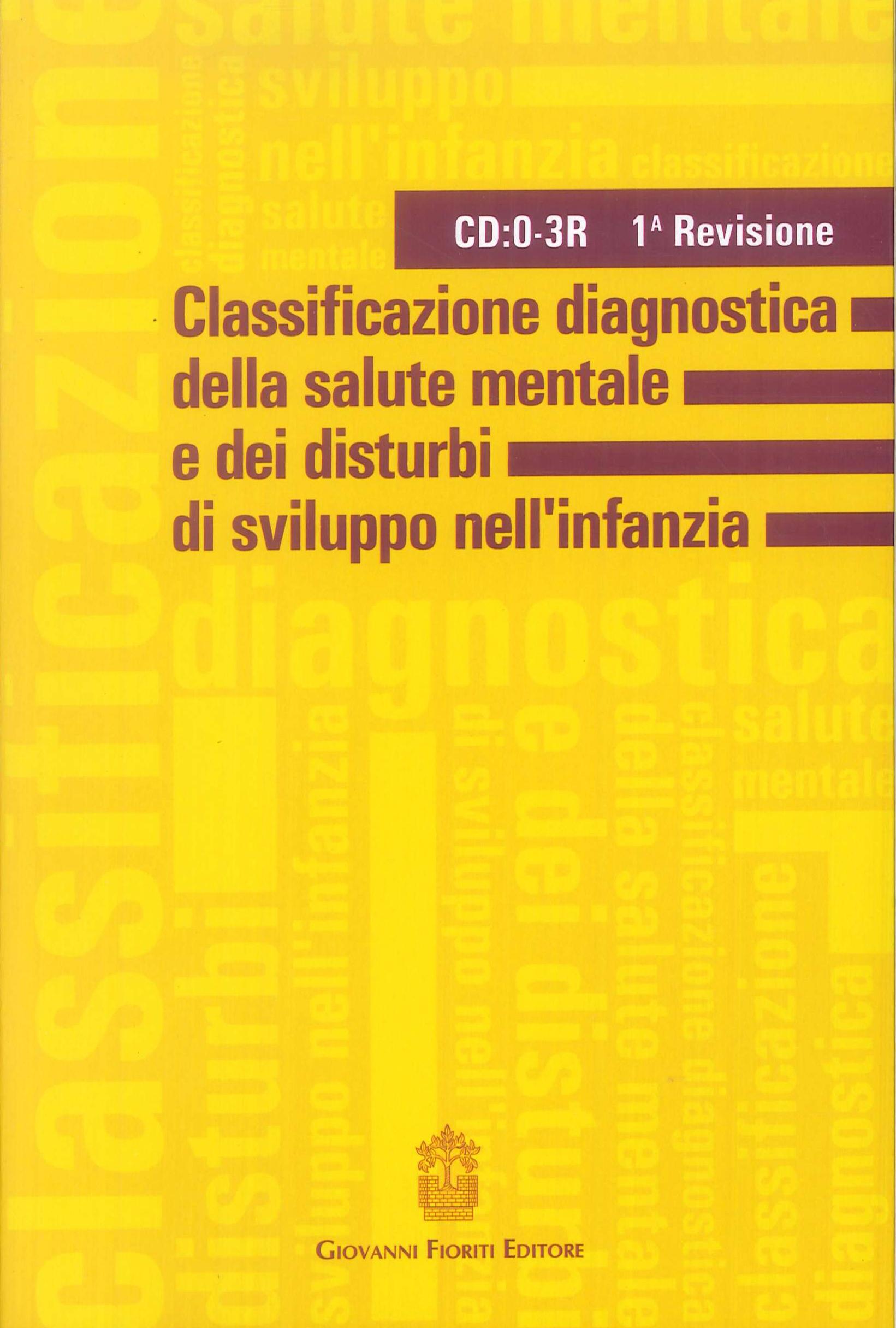 Classificazione diagnostica della salute mentale e dei disturbi di sviluppo dell'infanzia. 1ª revisione