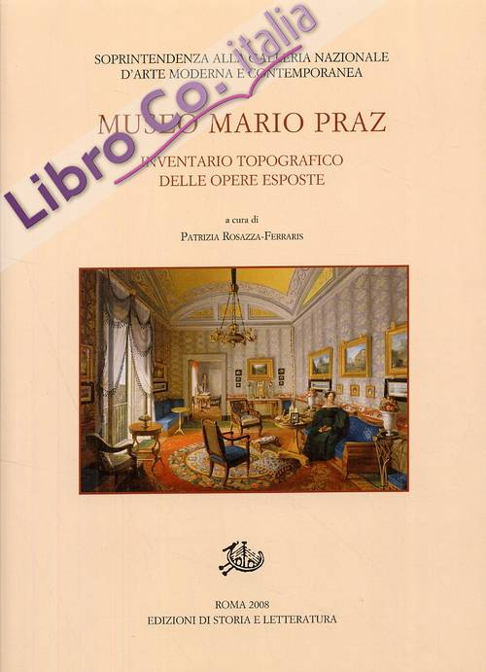Museo Mario Praz. Inventario topografico delle opere esposte