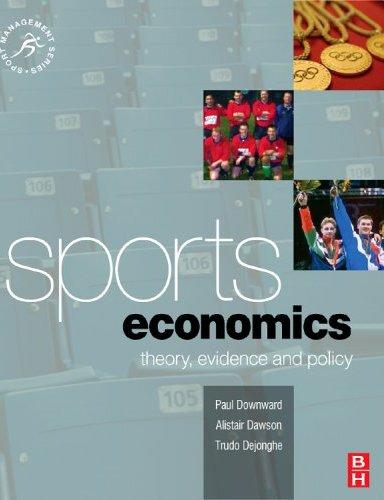 Economics of Sports.