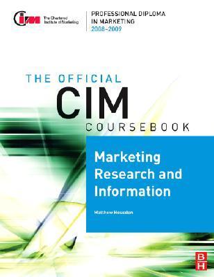 CIM Coursebk Marketing Research & Inform.