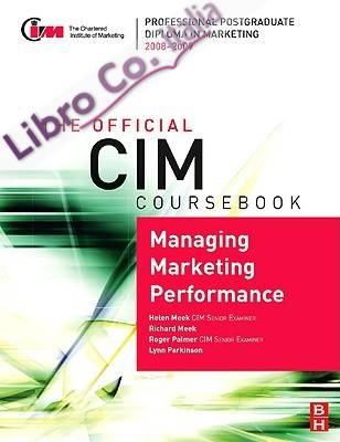 CIM Coursebk Managing Marketing Performa
