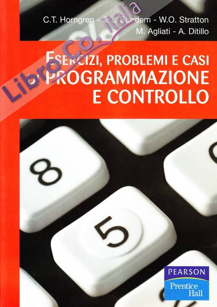 Esercizi, problemi e casi di programmazione e controllo