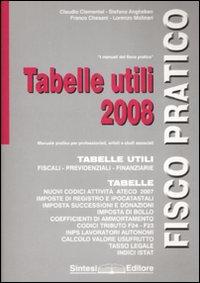 Tabelle utili 2008