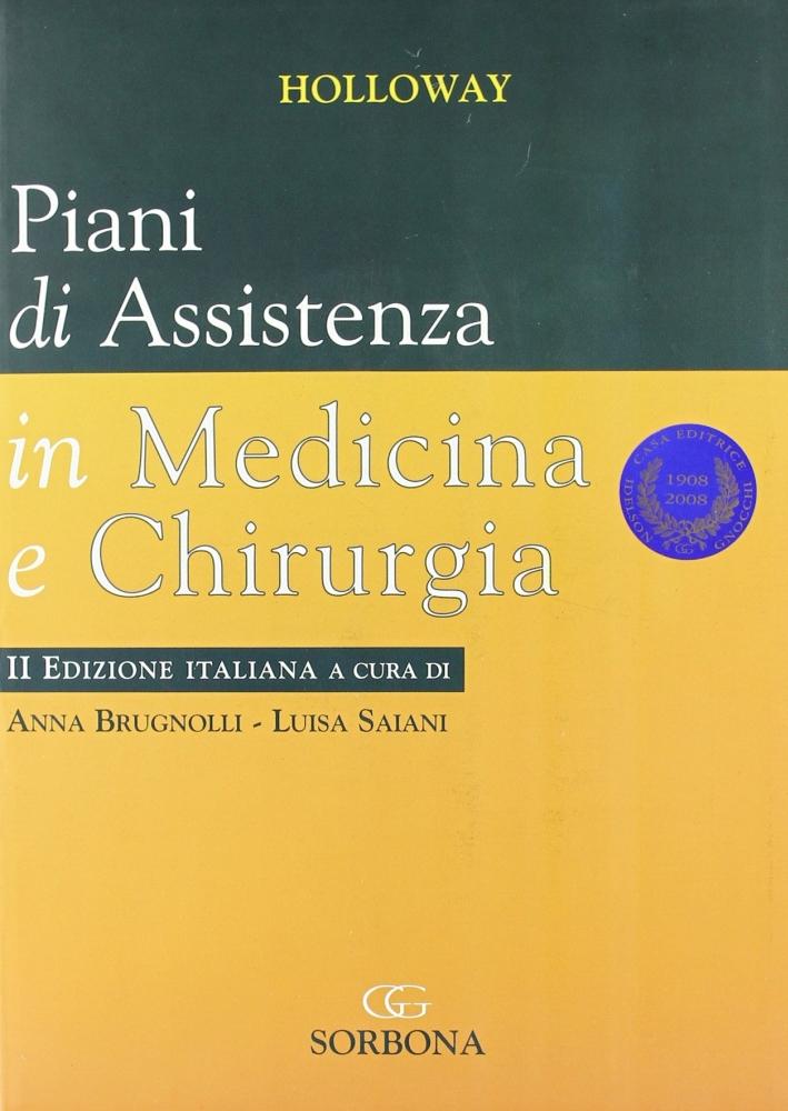 Piani di assistenza in medicina e chirurgia