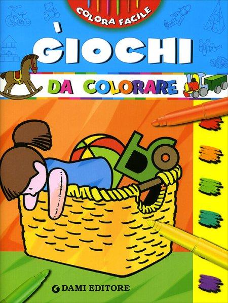 I giochi da colorare. Ediz. illustrata
