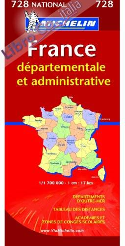 Map 0728 France Administrative