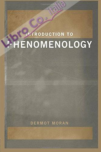 Introduction to Phenomenology.