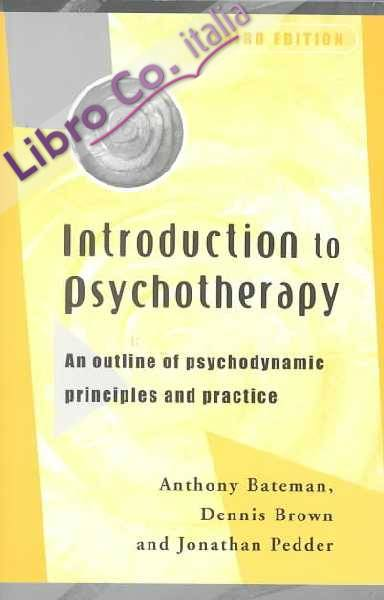 Introduction to Psychotherapy.