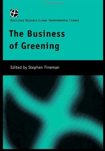 Business of Greening.