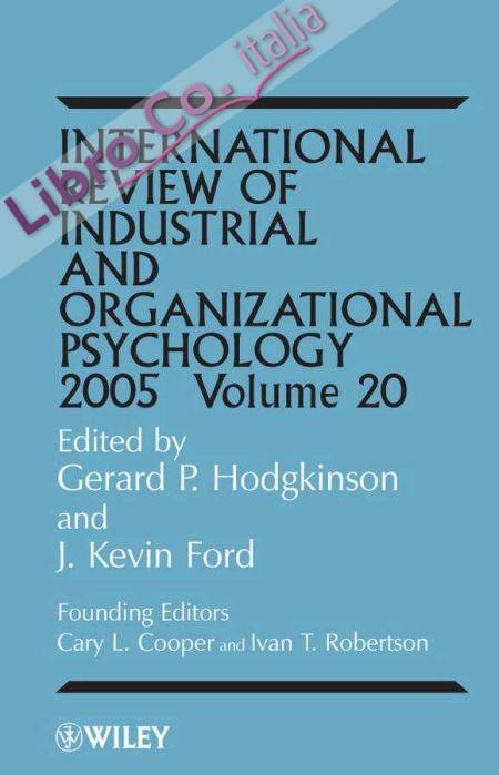 International Review of Industrial and Organizational...: v.