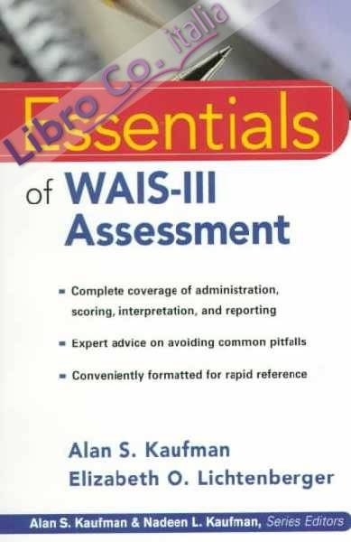Essentials of WAIS-III Assessment