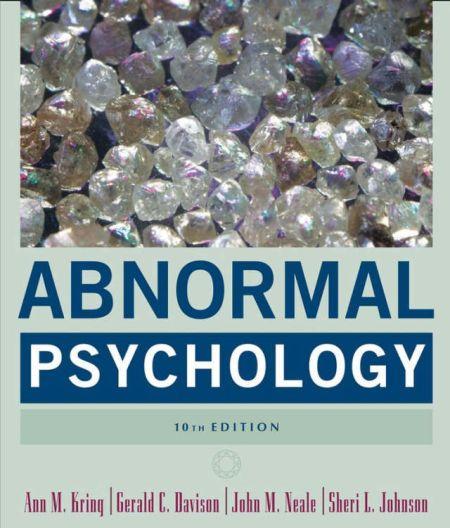 Abnormal Psychology.