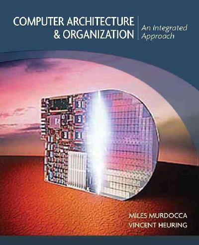 Computer Architecture and Organization.