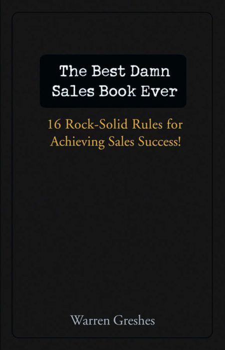 Best Damn Sales Book Ever