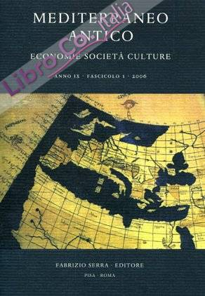 Mediterraneo antico. Economie società culture. Anno I. 2. 1998
