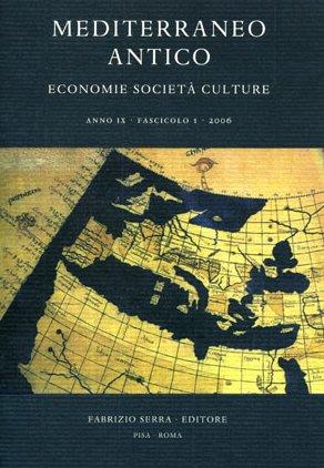 Mediterraneo antico. Economie società culture. Anno IV. 1. 2001