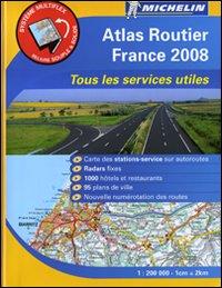 France. Atlas routier & services utiles 1:200.000.