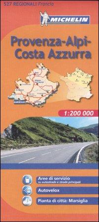 Provenza, Alpi, Costa d'Azzurra 1:200.000.