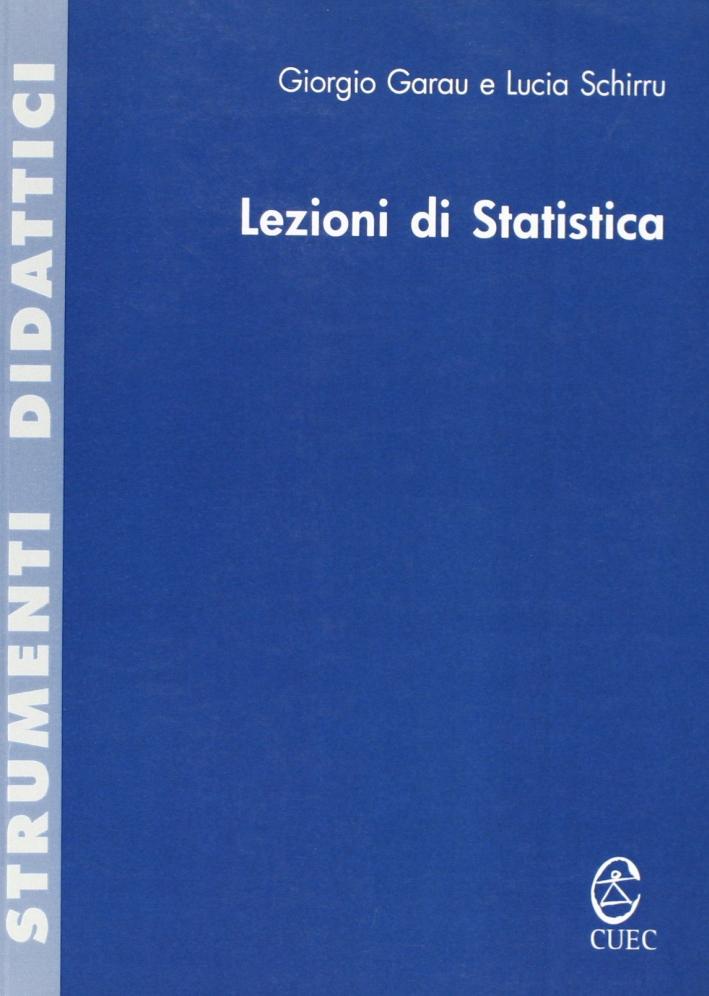 Lezioni di statistica.