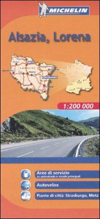 Alsazia, Lorena 1:200.000