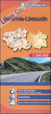 Alvernia-Limousin 1:200.000