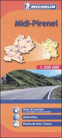 Midi-Pirenei 1:200.000