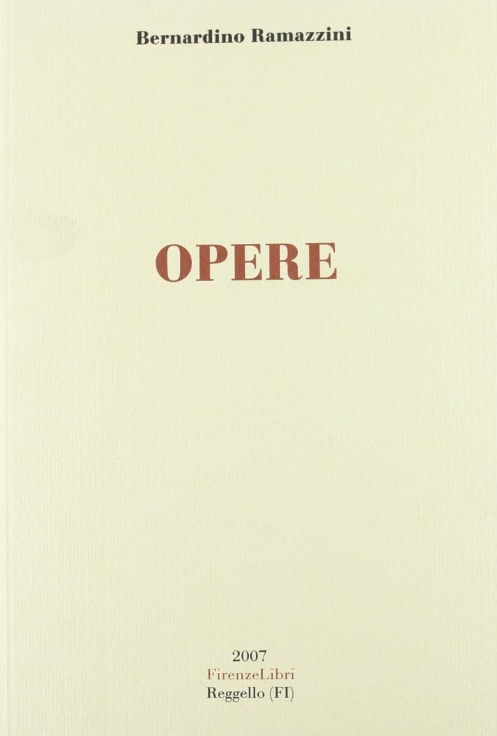 Opere. Opera medica e phisiologica.