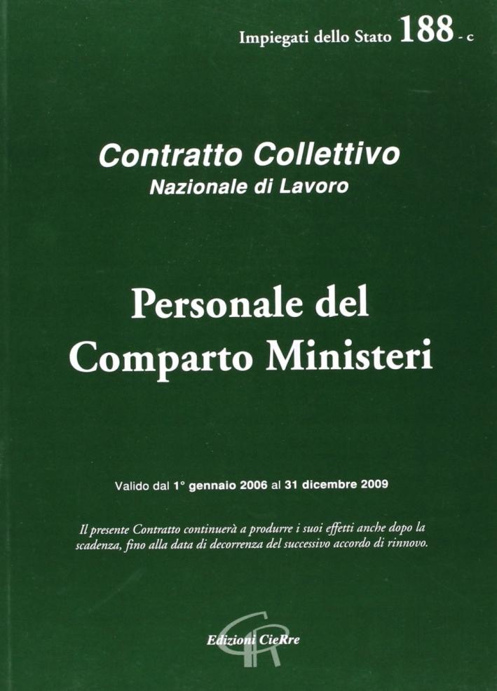CCNL personale del comparto ministeri