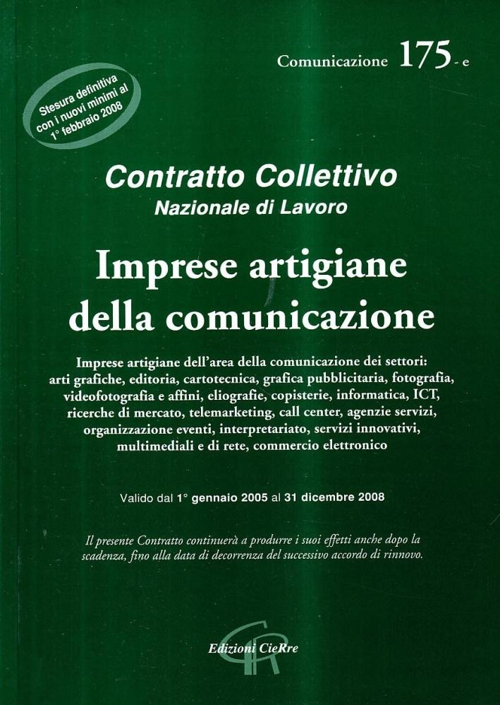 CCNL artigiani della comunicazione