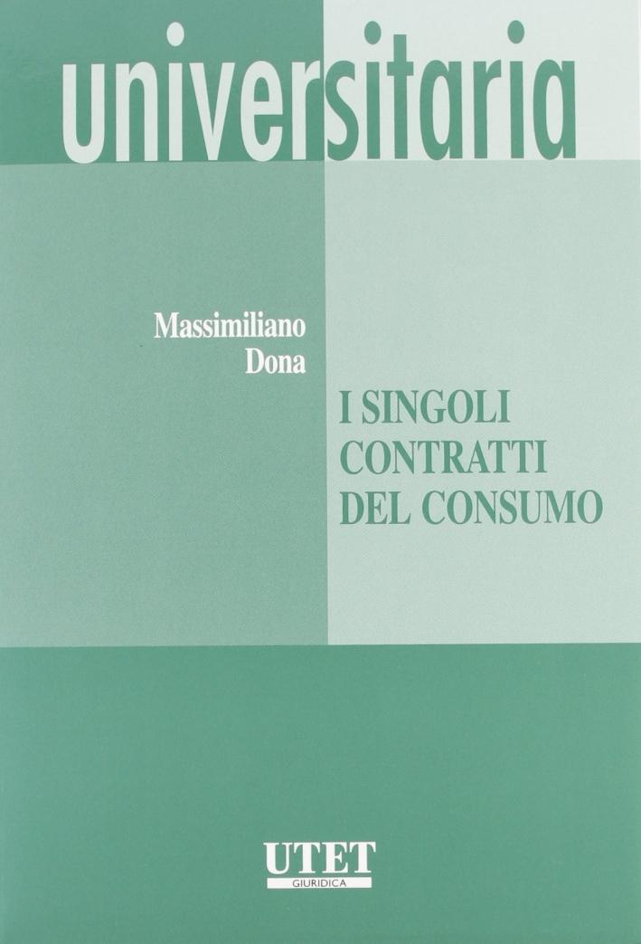 I singoli contratti di consumo
