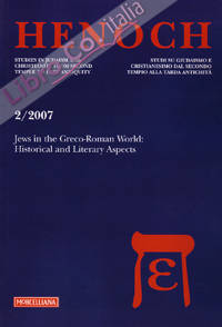 Henoch (2007). Vol. 2: Jews in the greco-roman world