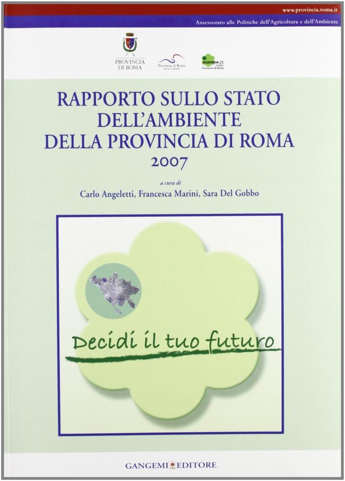 Rapporto sullo stato dell'ambiente della Provincia di Roma