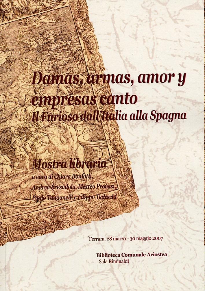 Damas, armas, amor y empresas canto. Il Furioso dall'Italia alla Spagna