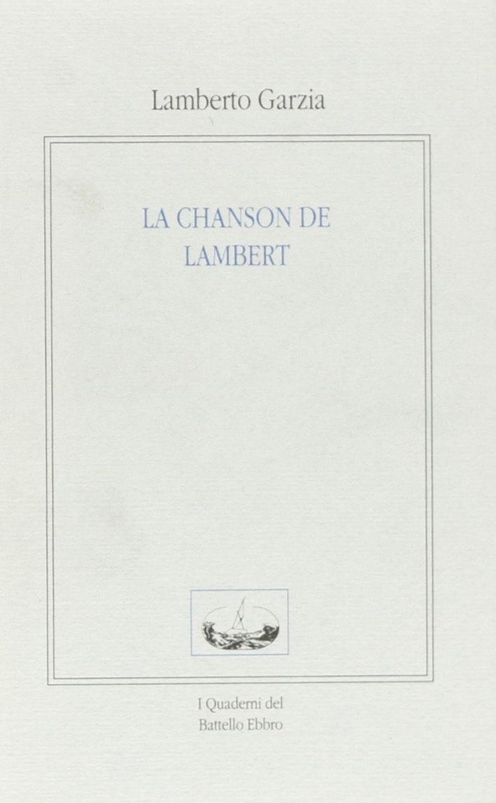 La chanson de Lambert.
