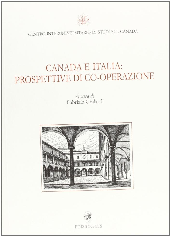 Canada e Italia: prospettive di cooperazione