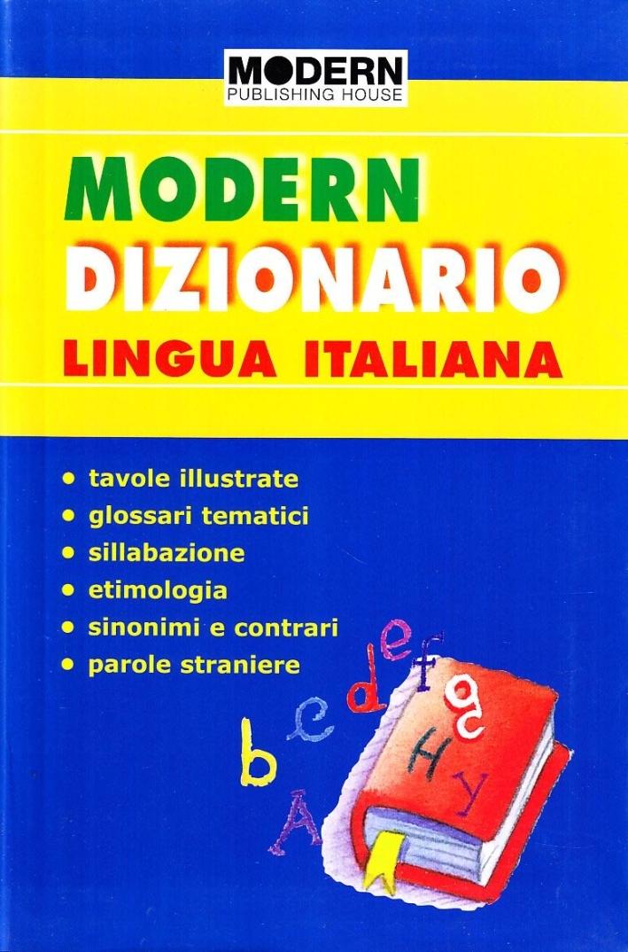 Modern dizionario lingua italiana.